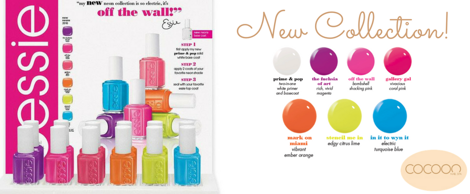 new essie collection cocoon nail spa