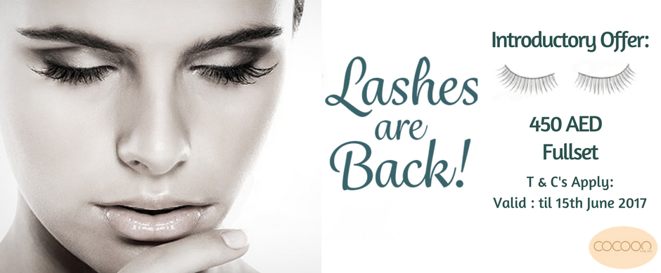 Lashes are Back! Cocoon Nail Spa