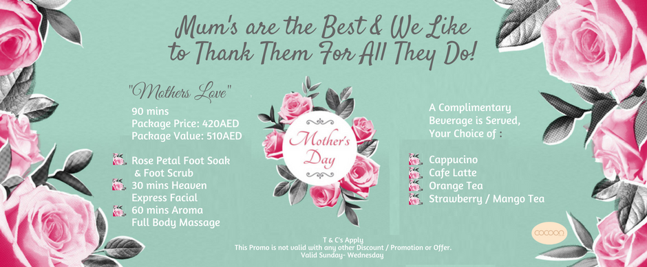 Mothers day cocoon nail spa promo 1